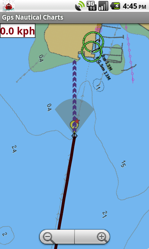 Android Marine Navigation App User Guide