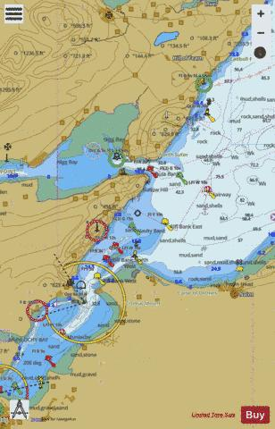 Approaches to Cromarty Firth and Inverness Firth Marine Chart - Nautical Charts App