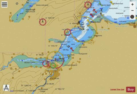 Inverness Firth Marine Chart - Nautical Charts App