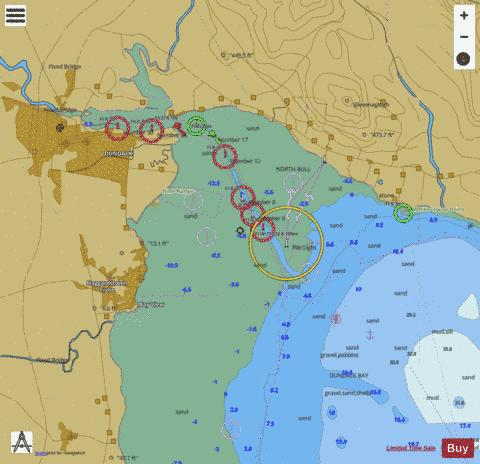 C Dundalk and Approaches Marine Chart - Nautical Charts App