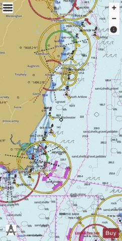Carnsore Point to Wicklow Head Marine Chart - Nautical Charts App
