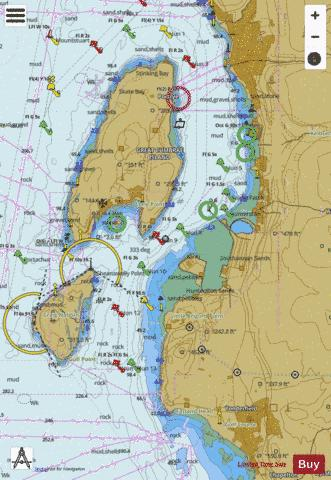 C  Hunterston Channel Marine Chart - Nautical Charts App