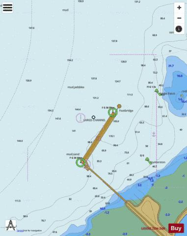 E  Hunterston Jetty Marine Chart - Nautical Charts App