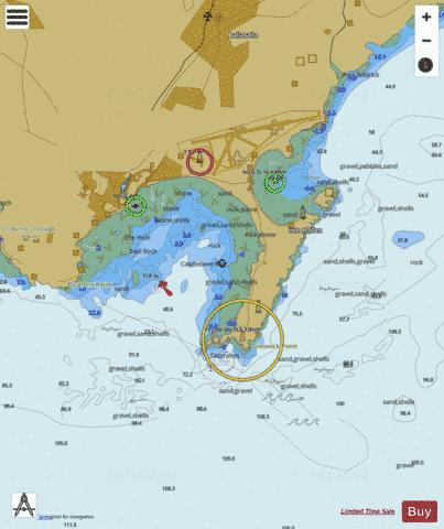C  Castletown Bay Marine Chart - Nautical Charts App