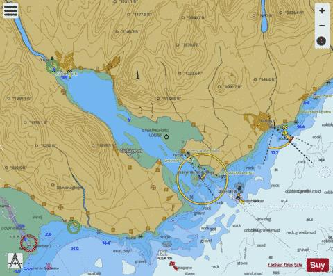 Carlingford Lough Marine Chart - Nautical Charts App