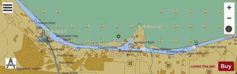 A  Ellesmere Port and Stanlow Oil Docks Marine Chart - Nautical Charts App