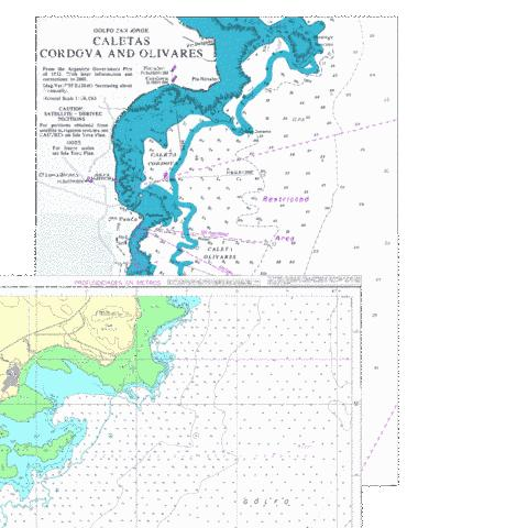 Caletas Cordova and Olivares Marine Chart - Nautical Charts App