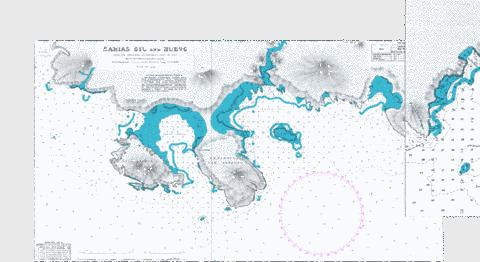Bahias Gil and Huevo Marine Chart - Nautical Charts App