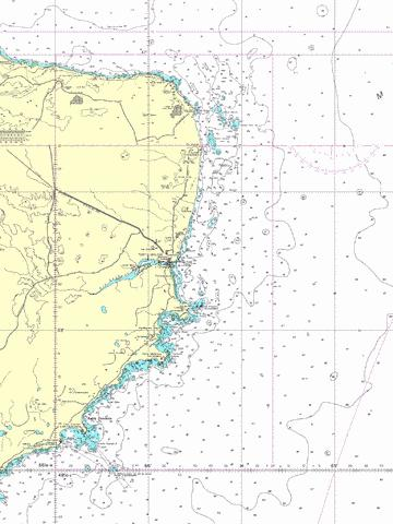 Cabo Guardian to Punta Nava Marine Chart - Nautical Charts App