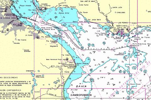 Montevideo to Buenos Aires Marine Chart - Nautical Charts App