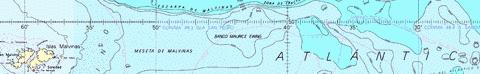 Falkland Islands to Cabo Corrientes and Northeast Georgia Rise Marine Chart - Nautical Charts App