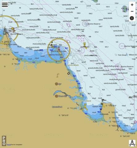 Great Barrier Reef - Abbott Point to Cape Cleveland Marine Chart - Nautical Charts App