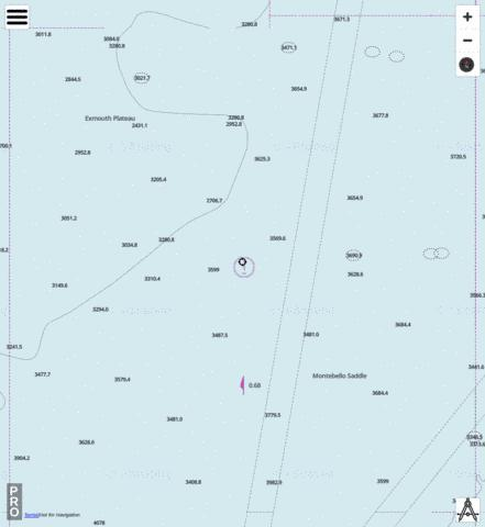 Indian Ocean - Cell 18 Marine Chart - Nautical Charts App