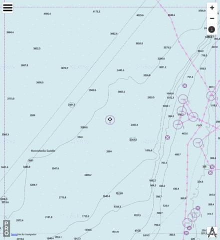 Indian Ocean - Cell 17 Marine Chart - Nautical Charts App