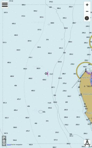 Western Australia - Cape Inscription Marine Chart - Nautical Charts App