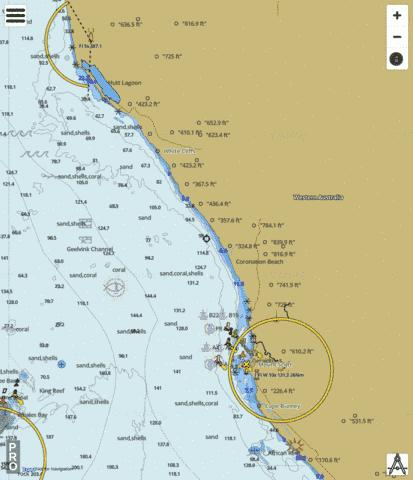 Western Australia - Approaches to Geraldton Marine Chart - Nautical Charts App