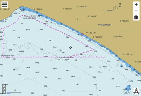 South Australia - Head of Great Australian Bight to D'Entrecasteaux Reef Marine Chart - Nautical Charts App