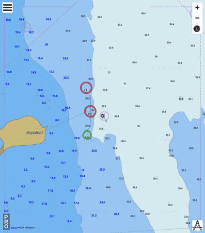 Western Australia - West Coast - Slope Island Marine Chart - Nautical Charts App