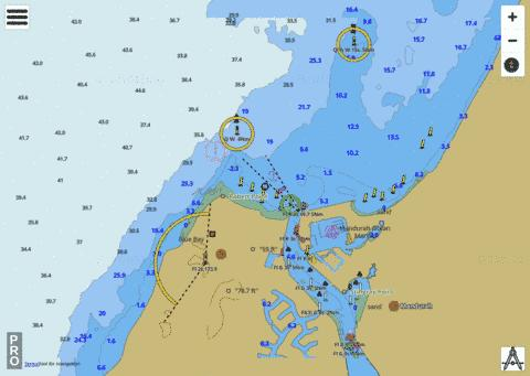 Western Australia - Entrance To Mandurah Estuary Marine Chart - Nautical Charts App