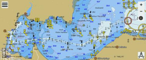 Australia - Victoria - Port Phillip - Geelong Marine Chart - Nautical Charts App