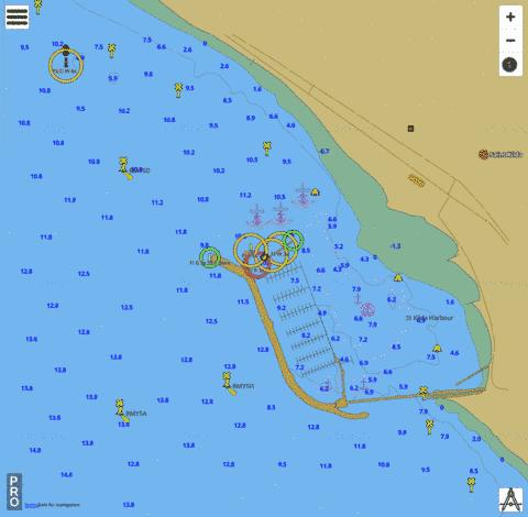Port Phillip - St Kilda Harbour Marine Chart - Nautical Charts App