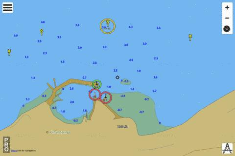 Port Phillip - Clifton Springs Marine Chart - Nautical Charts App