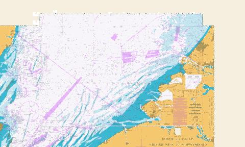 West Hinder and Outer Gabbard to Vlissingen and Scheveningen Marine Chart - Nautical Charts App