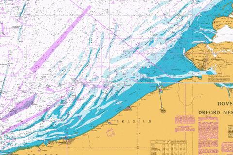 Dunkerque to Vlissingen Marine Chart - Nautical Charts App