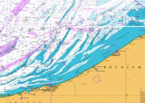 Dunkerque to Oostende Marine Chart - Nautical Charts App
