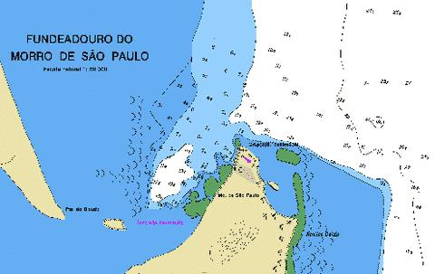 FUNDEADOURO DO MORRO DE SAO PAULO Marine Chart - Nautical Charts App