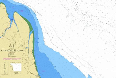 DO CABO ORANGE A PONTA TUCUMA Marine Chart - Nautical Charts App