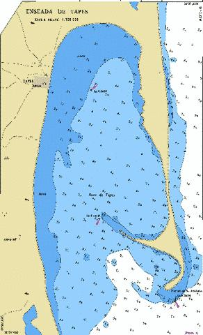 ENSEADA DE TAPES Marine Chart - Nautical Charts App