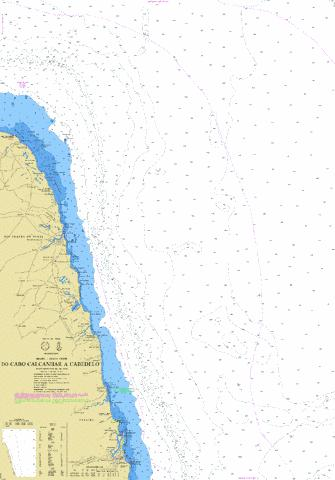 DO CABO CALCANHAR A CABEDELO Marine Chart - Nautical Charts App