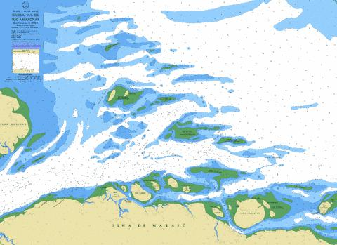 BARRA SUL DO RIO AMAZONAS Marine Chart - Nautical Charts App