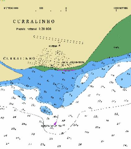 CURRALINHO Marine Chart - Nautical Charts App