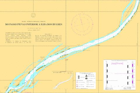 DO PASSO PIUVAS INFERIOR A ILHA DOS BUGRES Marine Chart - Nautical Charts App