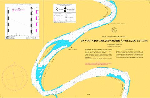 DA VOLTA DO CARANDAZINHO A VOLTA DO CURURU Marine Chart - Nautical Charts App