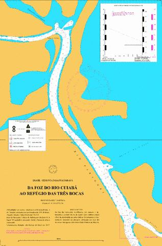 DA FOZ DO RIO CUIABA A BAIA DO CARA-CARA Marine Chart - Nautical Charts App