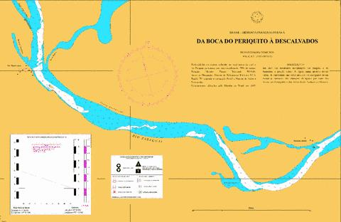 DA BOCA DO PERIQUITO A DESCALVADOS Marine Chart - Nautical Charts App