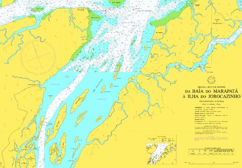 DA BAIA DO MARAPATA A ILHA DO JOROCAZINHO Marine Chart - Nautical Charts App