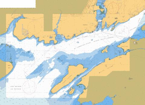 KINGSTON HARBOUR AND APPROACHES/ET LES APPROCHES Marine Chart - Nautical Charts App