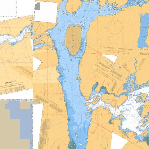 GANNON NARROWS TO/À BOBCAYGEON Marine Chart - Nautical Charts App