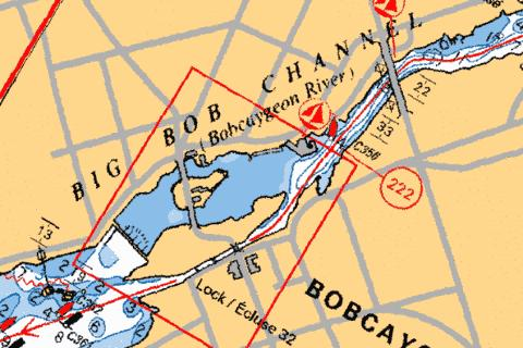 BOBCAYGEON - LOCK/�CLUSE 32 Marine Chart - Nautical Charts App