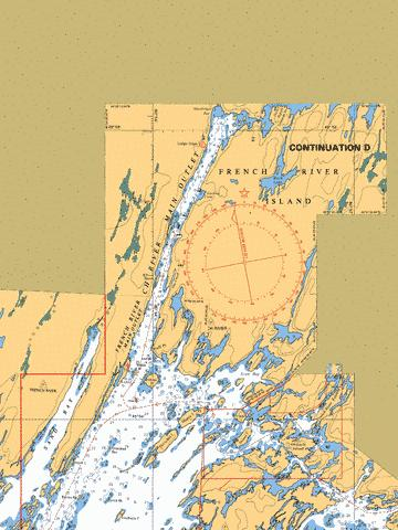 CONTINUATION D Marine Chart - Nautical Charts App
