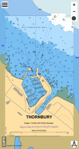 THORNBURY Marine Chart - Nautical Charts App