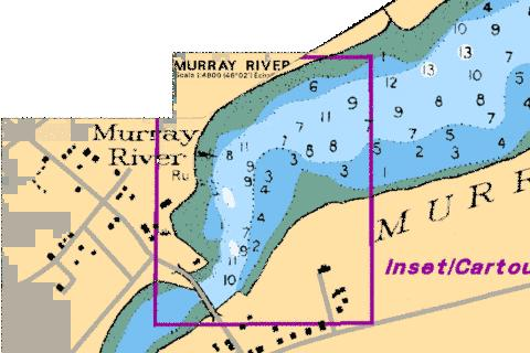 MURRAY RIVER Marine Chart - Nautical Charts App