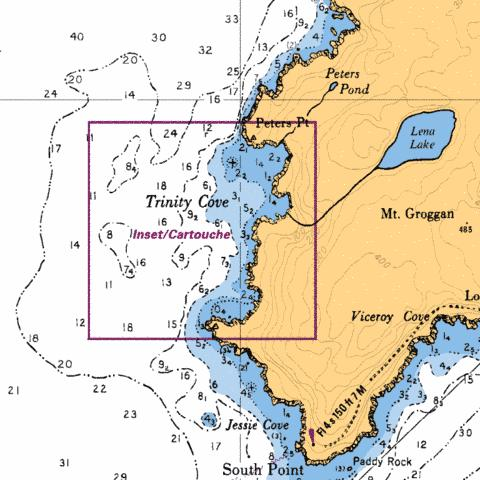 TRINITY COVE Marine Chart - Nautical Charts App
