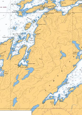 PLANS - NOTRE DAME BAY Marine Chart - Nautical Charts App