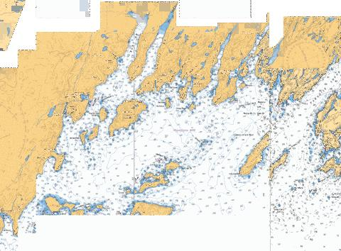 HARBOURS IN PLACENTIA BAY HAVRES DANS PLACENTIA BAY PETIT FORTE TO/À BRO Marine Chart - Nautical Charts App
