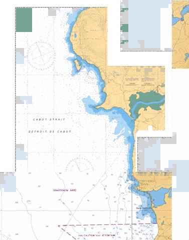LARKIN POINT TO/� CAPE ANGUILLE Marine Chart - Nautical Charts App